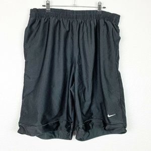 Nike XL Black Activewear Jersey Basketball Shorts